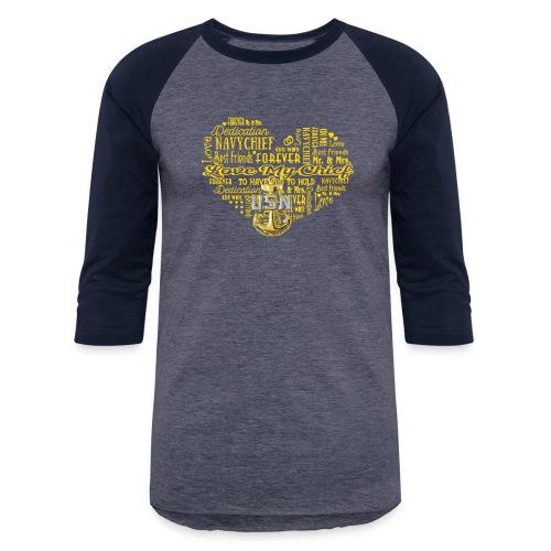 US Navy Chief Wife - Baseball T-Shirt