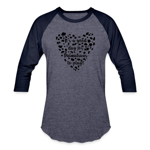 Dalmatians Play - Baseball T-Shirt