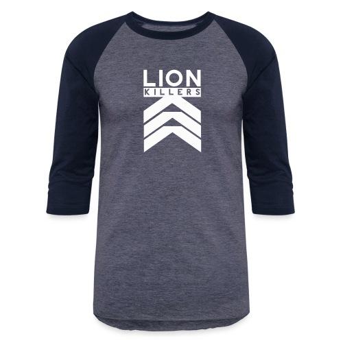 Lion Killers Front Logo - Dark Range - Baseball T-Shirt