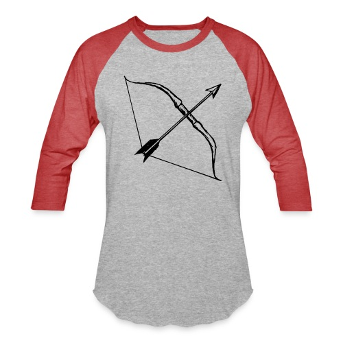 bow and arrow 3 - Baseball T-Shirt