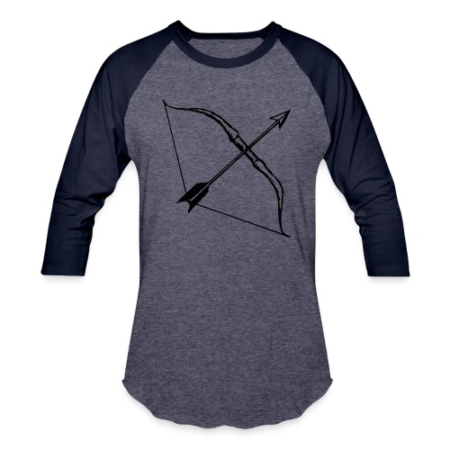 bow and arrow 3 - Baseball T-Shirt