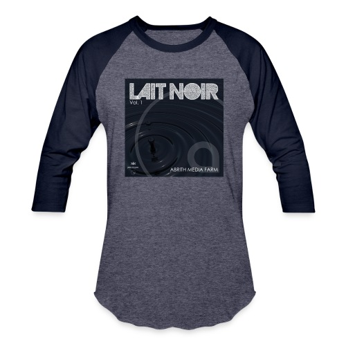 Lait Noir Vol. 1 - Unisex Baseball T-Shirt