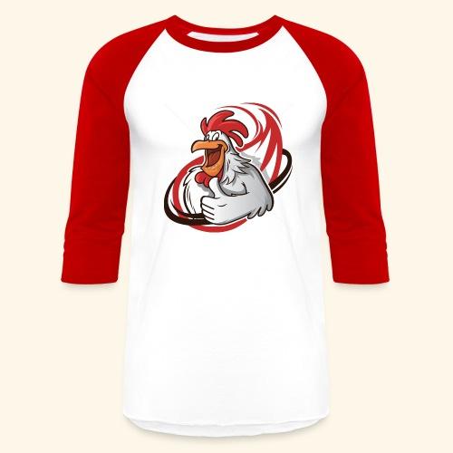 cartoon chicken with a thumbs up 1514989 - Baseball T-Shirt