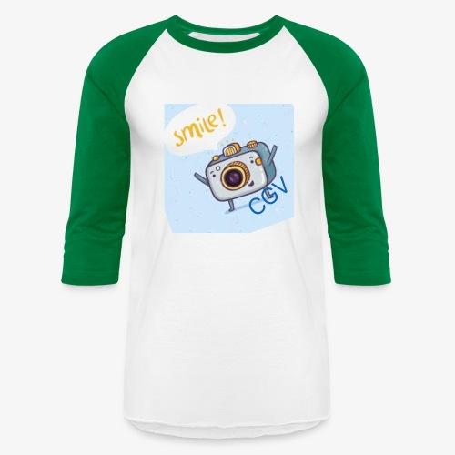 the smile - Unisex Baseball T-Shirt