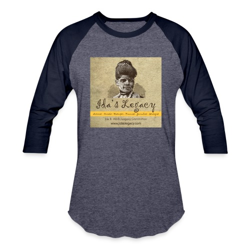 Ida's Legacy Full Color Art - Baseball T-Shirt