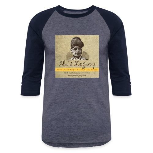 Ida's Legacy Full Color Art - Unisex Baseball T-Shirt