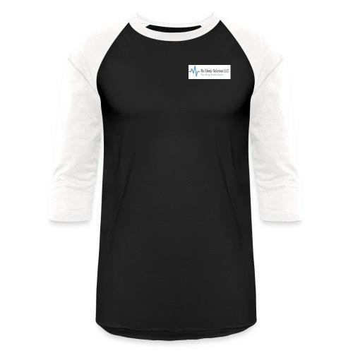 Rx Sleep Science Logo - Baseball T-Shirt