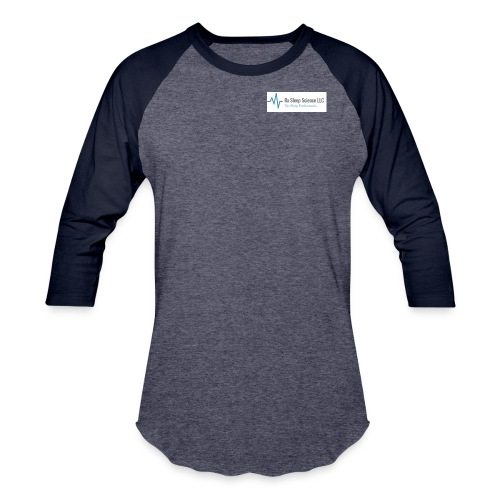 Rx Sleep Science Logo - Baseball T-Shirt