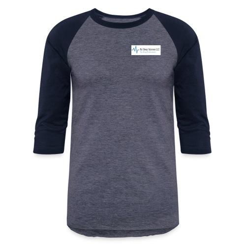 Rx Sleep Science Logo - Unisex Baseball T-Shirt