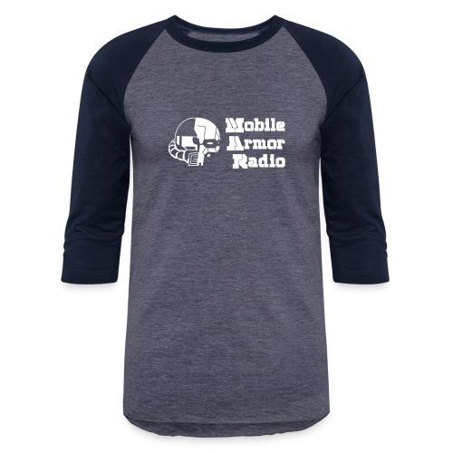MAR2 White - Unisex Baseball T-Shirt