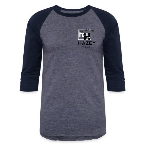 Hazey hzy Logo White - Baseball T-Shirt