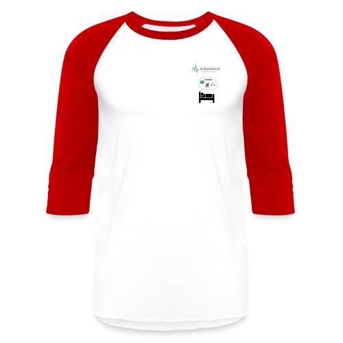 RxSleep Science complete logo - Baseball T-Shirt