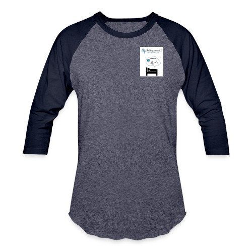 RxSleep Science complete logo - Baseball T-Shirt