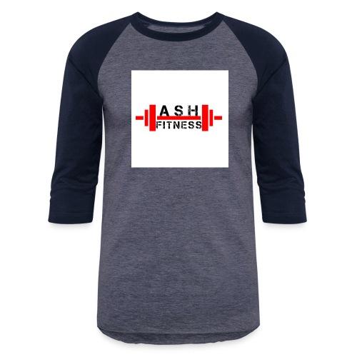ASH FITNESS MUSCLE ACCESSORIES - Baseball T-Shirt