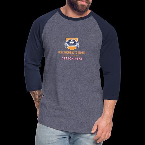 CLASSIC CARS! CLASSIC HOLLYWOOD! - Unisex Baseball T-Shirt