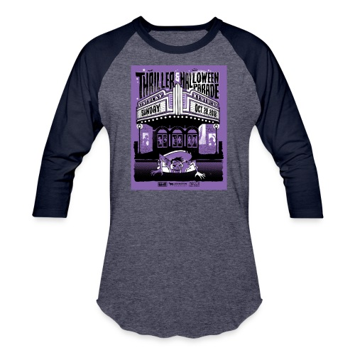 Thriller 2018 Lexington Halloween Parade - Unisex Baseball T-Shirt