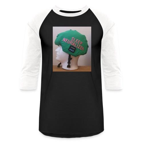 Sleep Neuralizer Helmet Model - Unisex Baseball T-Shirt