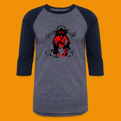 Music Zombie - Baseball T-Shirt