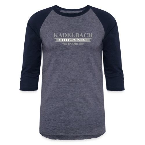 KOF Logo Gray - Unisex Baseball T-Shirt