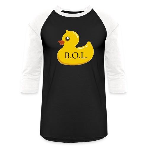 Official B.O.L. Ducky Duck Logo - Baseball T-Shirt