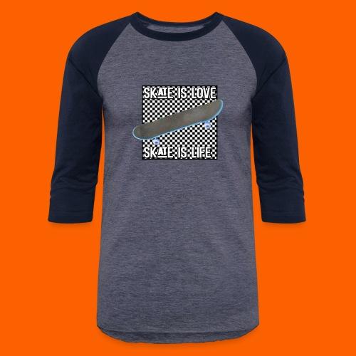 SK8 is Love - Baseball T-Shirt