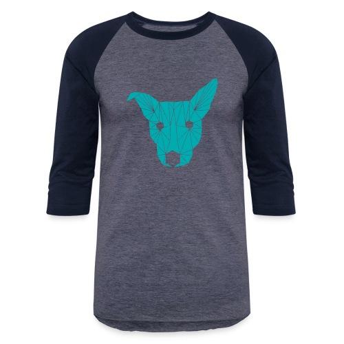 ruckusgeo turquoise - Baseball T-Shirt