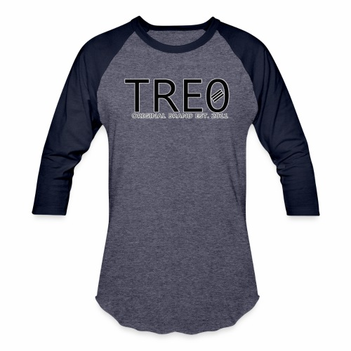 TRE0 Brand Glow White - Baseball T-Shirt
