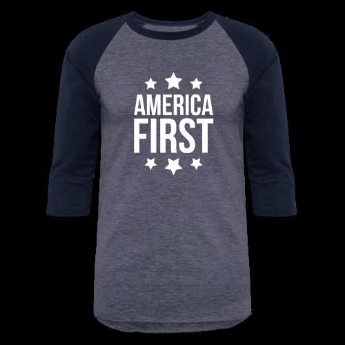 America First - Baseball T-Shirt