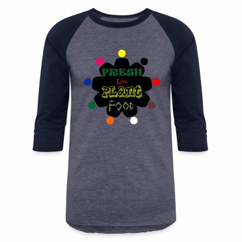 Vegan custom t shirt design - Baseball T-Shirt