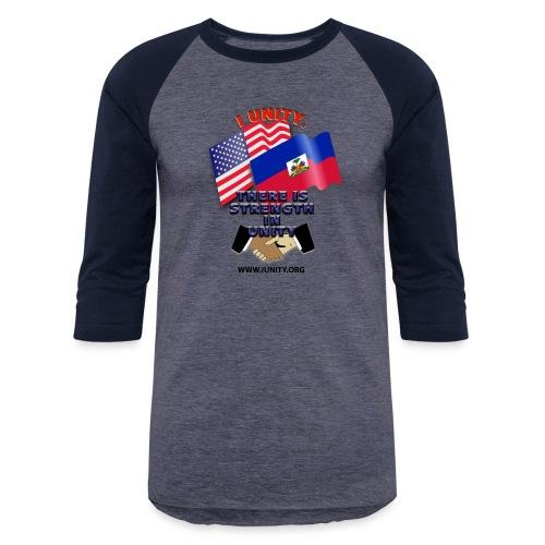 The Flag of Haiti E03 - Unisex Baseball T-Shirt