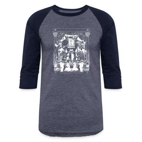 black chai tee white - Unisex Baseball T-Shirt
