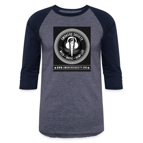 Smokers Society - Baseball T-Shirt