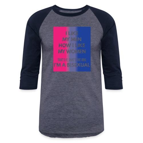 Bisexual - Bi - LGBT - Gay Pride - Gift - Baseball T-Shirt