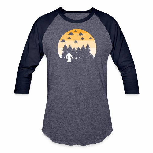 BIGFOOT UFO - Baseball T-Shirt