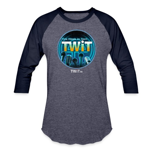 This Week in Tech - Distressed - Baseball T-Shirt