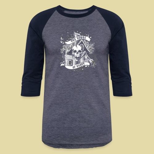 hoh_tshirt_skullhouse - Baseball T-Shirt