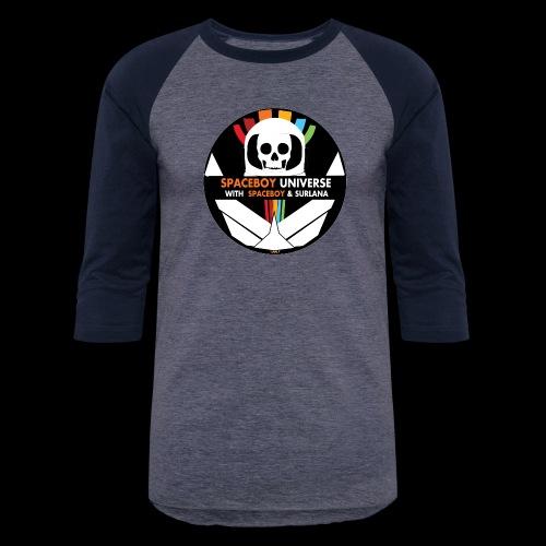 Spaceboy Universe Logo - Unisex Baseball T-Shirt