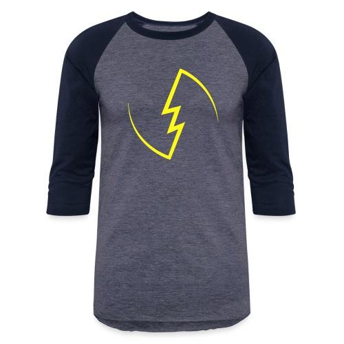 Electric Spark - Unisex Baseball T-Shirt