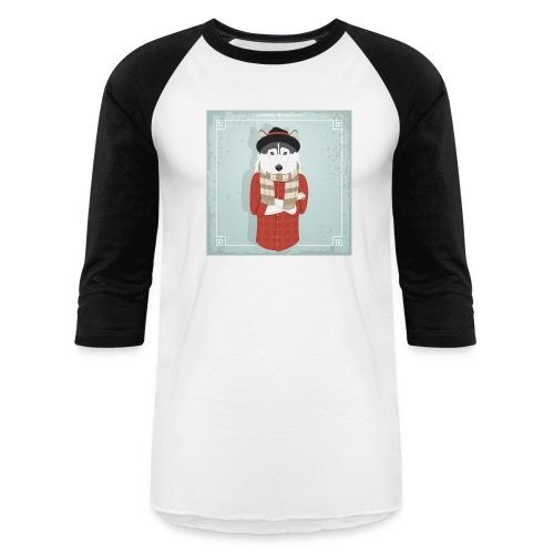 Hispter Dog - Baseball T-Shirt