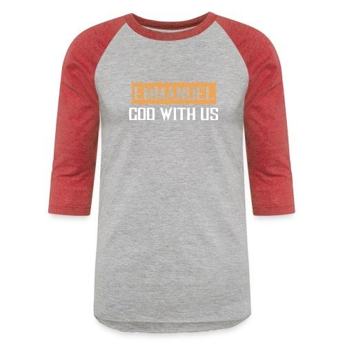 TESTIMONY OF JESUS TEES - Unisex Baseball T-Shirt