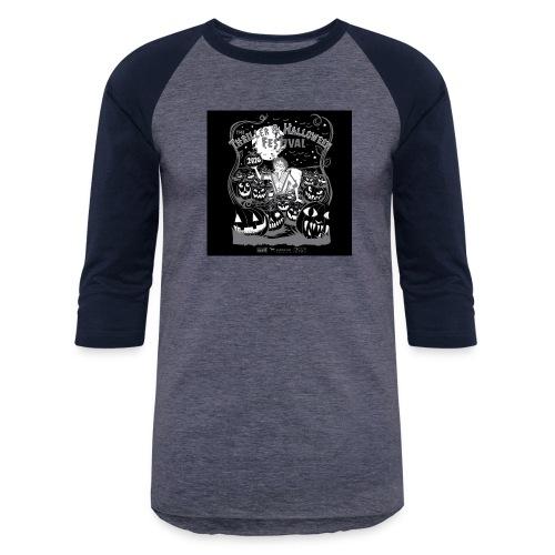 Thriller 2016 Lexington Halloween Parade - Unisex Baseball T-Shirt