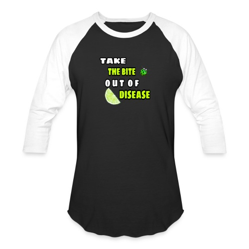 Take the bite out of Lyme's Disease - Baseball T-Shirt