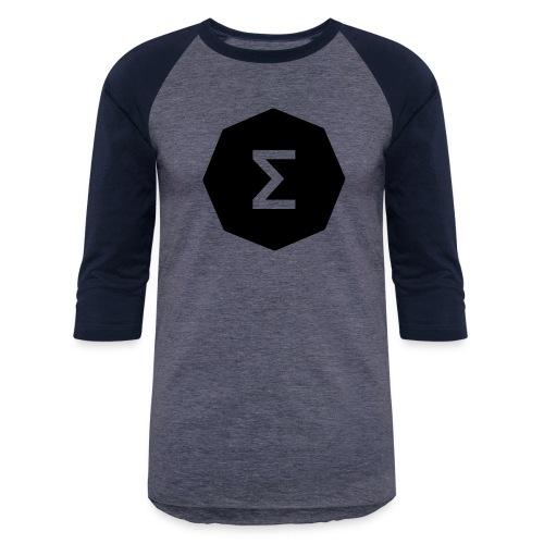 Ergo Symbol filled - Unisex Baseball T-Shirt