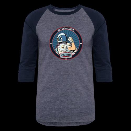 Space Cadet Can Do Badge - Baseball T-Shirt
