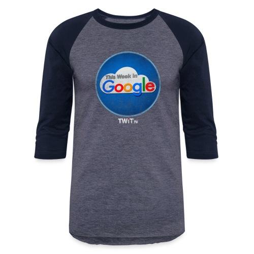 This Week in Google Album Art Distressed - Baseball T-Shirt