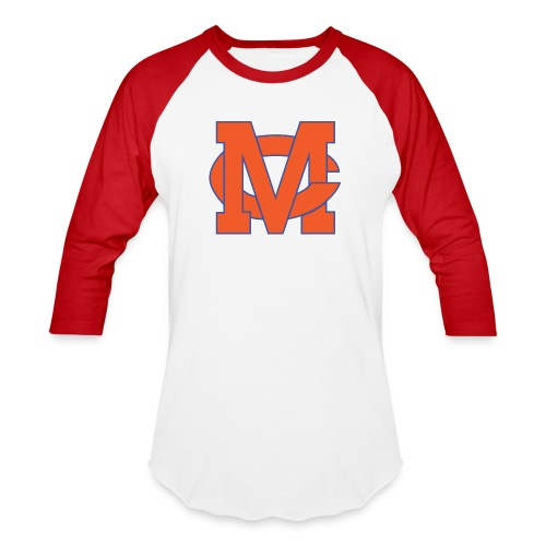 interlocking MC vector - Baseball T-Shirt