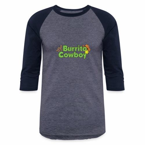 El Burrito Cowboy LOGO - Unisex Baseball T-Shirt