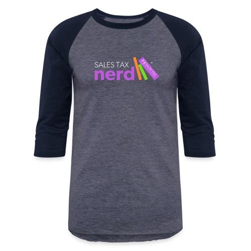 Sales Tax Nerd - Unisex Baseball T-Shirt