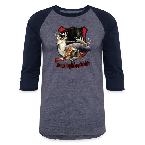 Maine Registerd Guide - Unisex Baseball T-Shirt