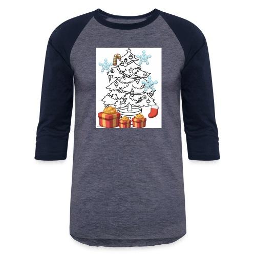Christmas is here!! - Baseball T-Shirt